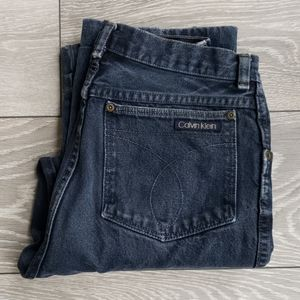 Vintage Calvin Klein Denim. Made in Canada